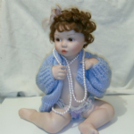 Ashton Drake Pretty as a Picture Porcelain Doll Barely Yours Titus Tomescu 76414 @sold@
